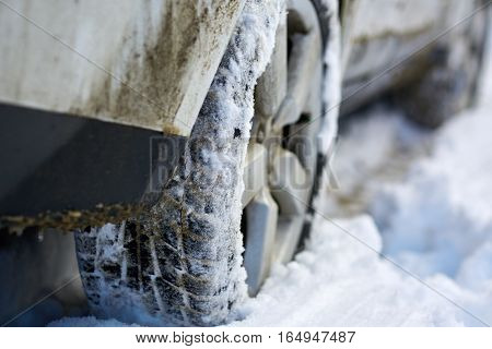 4X4 Tyres In Snow