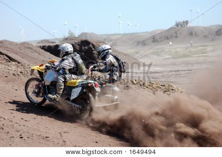 Motocross With Sidecar