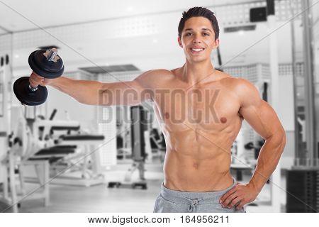 Bodybuilder Bodybuilding Muscles Gym Shoulder Shoulders Training Strong Muscular Man