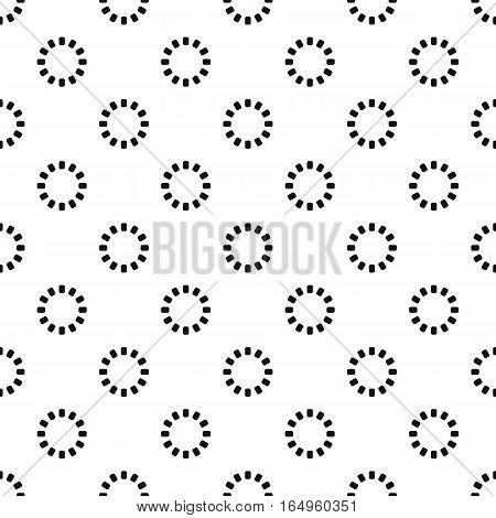 Preloader pattern. Simple illustration of preloader vector pattern for web