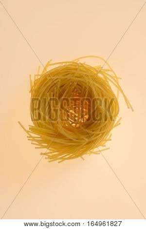 Angel Hair Pasta Noodle Ring