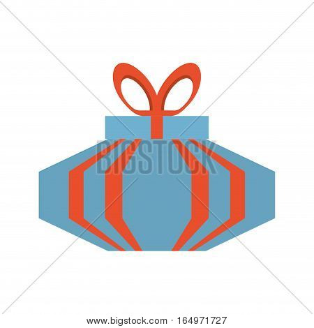 colored gift box wrap red ribbon vector illustration eps 10