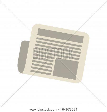 newspaper letter news daily vector illustration eps 10