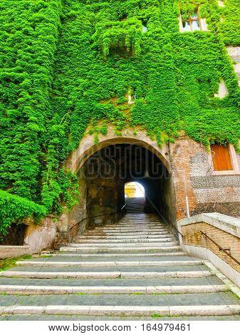 The Entrance To San Pietro In Vincoli - Rome