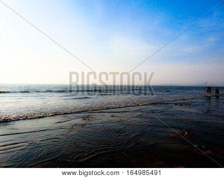 Photo taken @ Juhu Beach in Mumbai India