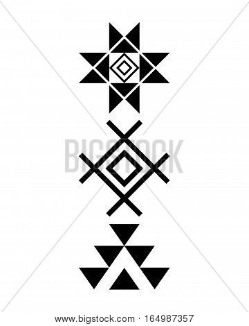 Navajo print, Aztec pattern, Tribal design, Native American