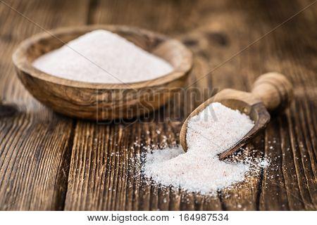 Pink Salt (selective Focus)