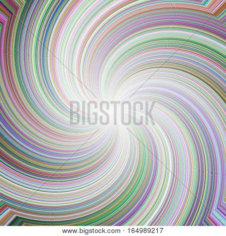Abstract curve rainbow wavy mixture rays image