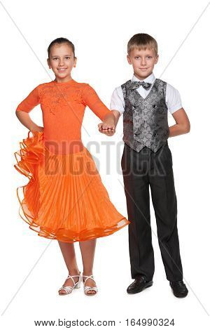 Boy And Girl Are Ready For Dancing
