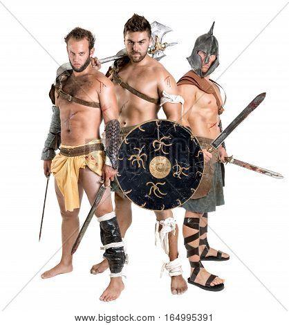 Gladiators/barbarian Warriors