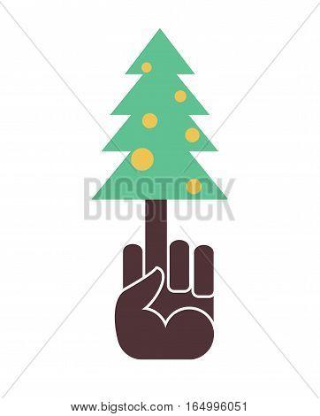 I Hate New Year. I Do Not Like Christmas. Fuck And Fir-tree