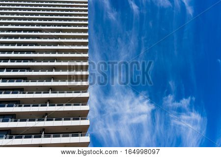 Architecture With Blue Sky On The Background
