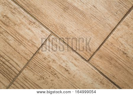 Close Up Of Wood-like Floor Tile