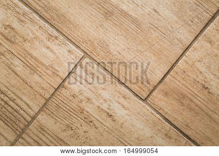 Close Up Of Wood-like Floor Tile