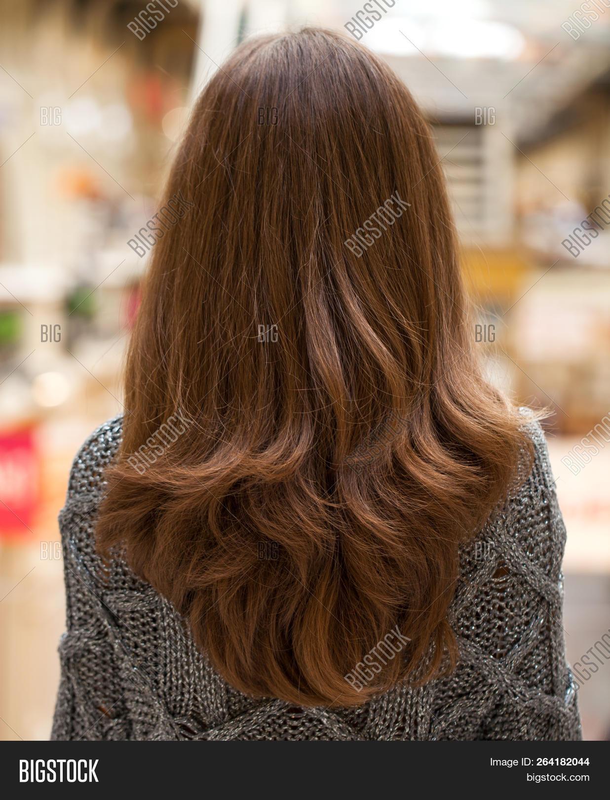 Female Long Wavy Hair Image Photo Free Trial Bigstock