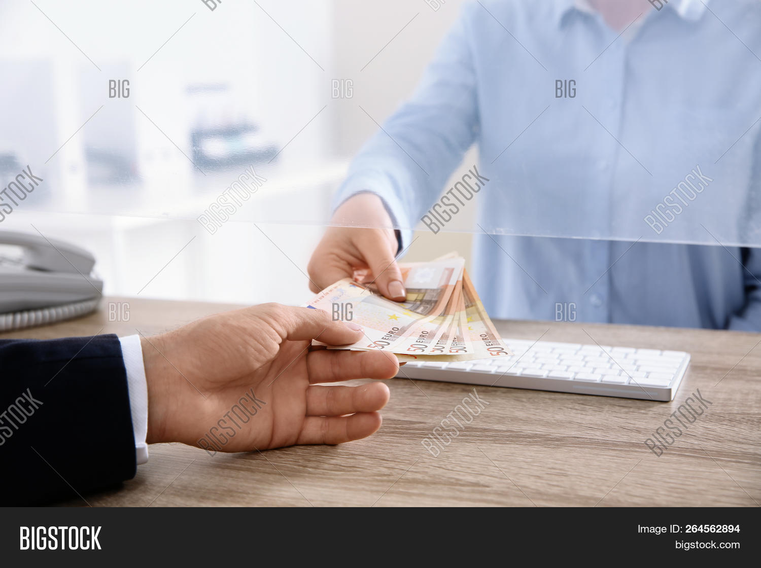 Man Receiving Money Image & Photo (Free Trial) | Bigstock