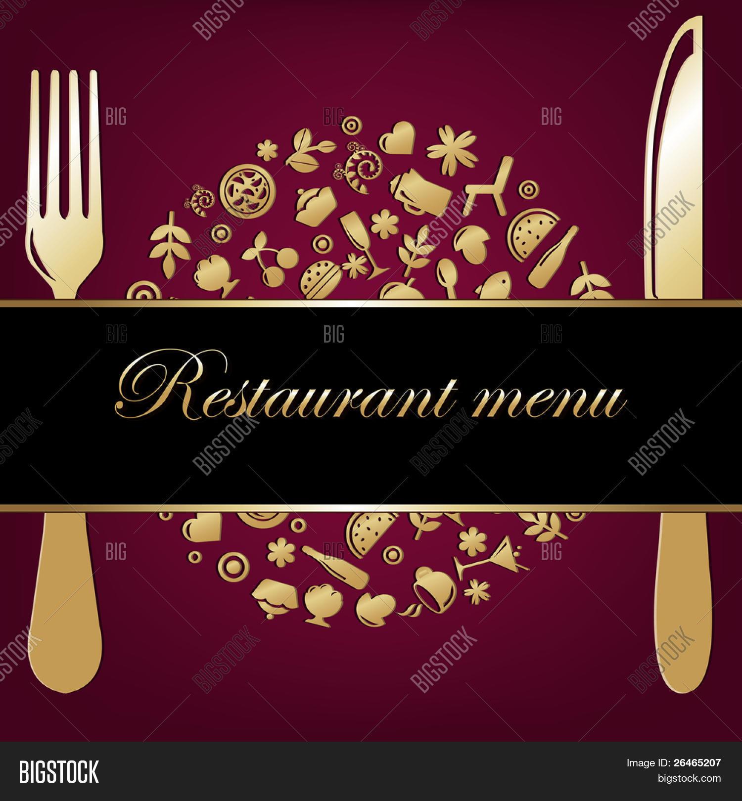 Restaurant Background Vector Photo Free Trial Bigstock