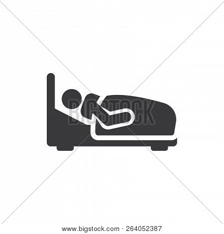 Hospitalization Vector Icon On White Background. Hospitalization Icon In Modern Design Style. Hospit