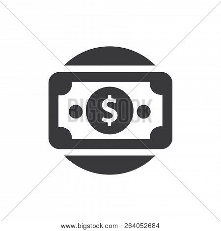 Money Vector Icon On White Background. Money Icon In Modern Design Style. Money Vector Icon Popular