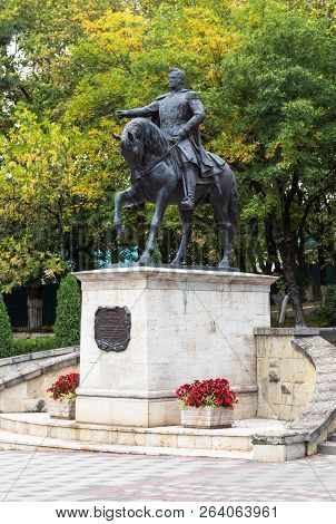 Pyatigorsk, Russia - September 17, 2018: Monument To General Alexei Yermolov, Hero Of The Caucasian