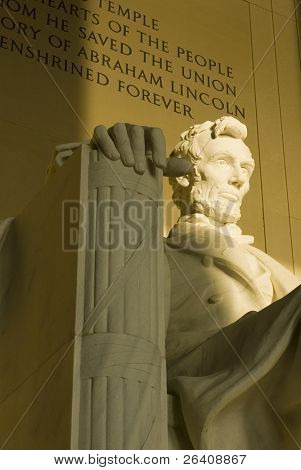 Lincoln Memorial sunrise Washington DC travel series 34