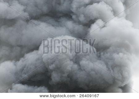 Black smoke cloud series - 09