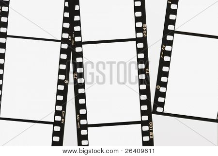 Film strip negative background panel 35mm series 03 poster