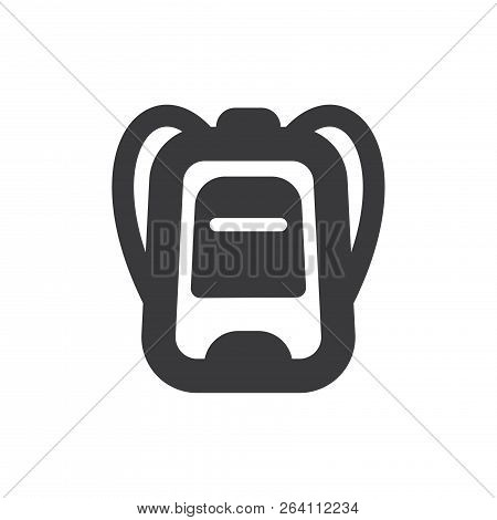Backpack Vector Icon On White Background. Backpack Icon In Modern Design Style. Backpack Vector Icon
