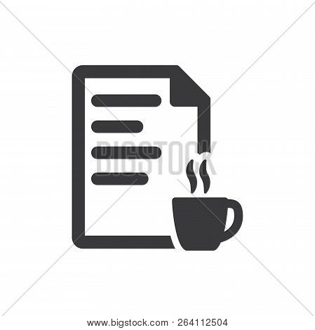 Fresh Content Vector Icon On White Background. Fresh Content Icon In Modern Design Style. Fresh Cont