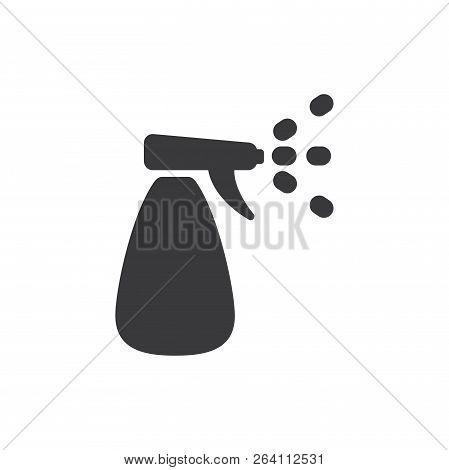 Water Sprayer Vector Icon On White Background. Water Sprayer Icon In Modern Design Style. Water Spra