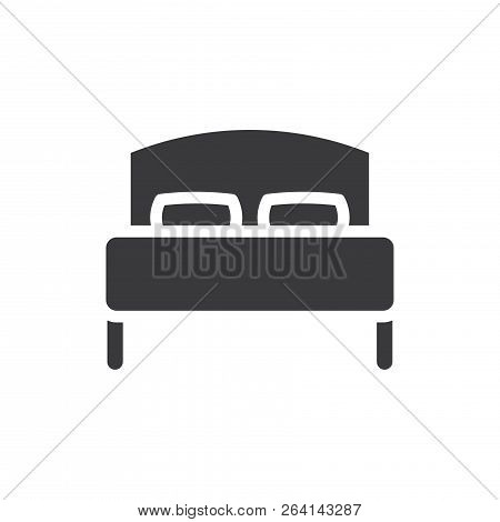 Bed Vector Icon On Vector Photo Free Trial Bigstock