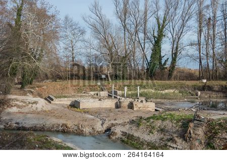 Sanctuary Of Goddess Isis. Dion Archaeological Park, Pieria, Greece.