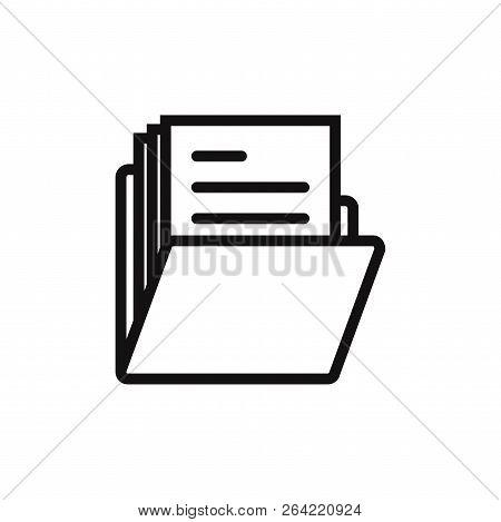 Folder Icon Isolated On White Background. Folder Icon In Trendy Design Style. Folder Vector Icon Mod