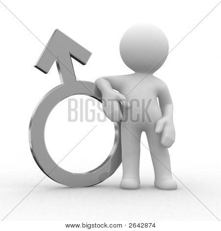 Male Metal Symbol
