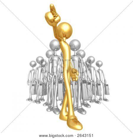 Gold Team Leader