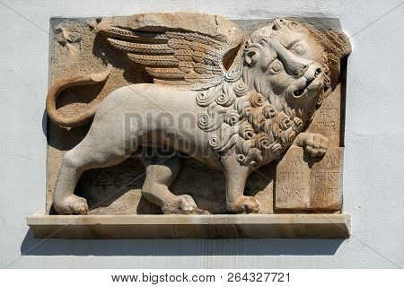 Medieval Venetian Lion Of Saint Mark