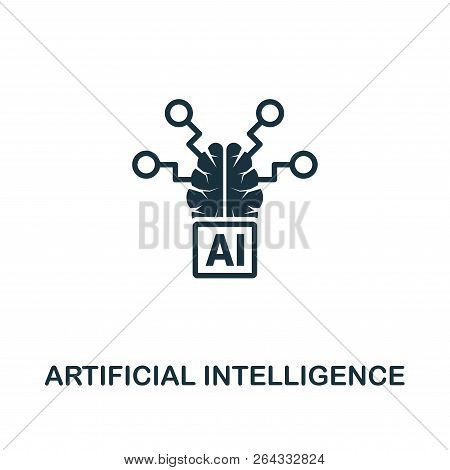 Artificial Intelligence Icon. Premium Style Design From Artificial Intelligence Icon Collection. Ui
