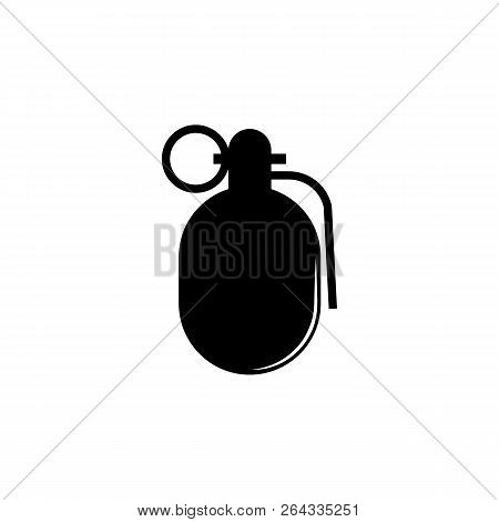 Weapon, Grenade Icon Vector & Photo (Free Trial) | Bigstock