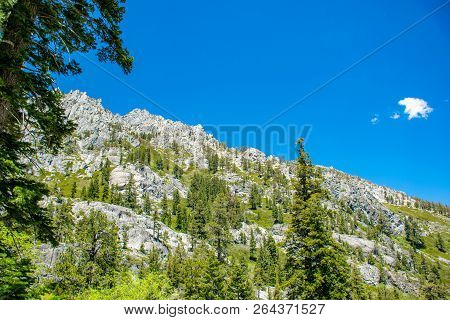 Eagle Lake Is A Back Country Lake In The Sierra Nevada Mountain Range, To The West Of Lake Tahoe In