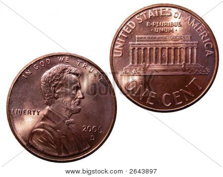 Two Cents Pennies