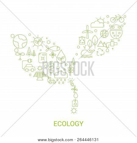 Recycling Ecological Concept