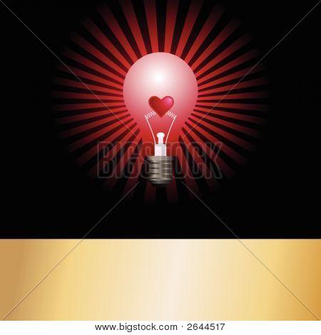 Lightbulb Hearts