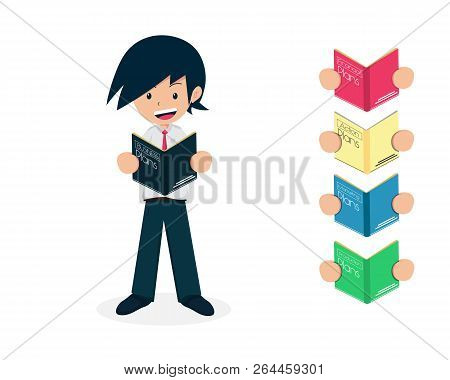 Salary Man 01 Read The Business Plan Book, Action Plans, Financial Plan, Marketing Plan And Producti