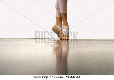 Ballerina On Her Toes