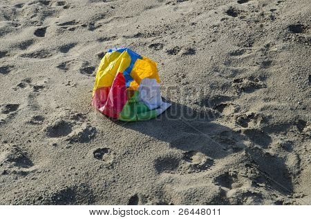 Deflated Beach Ball
