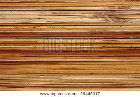Layered texture of ply-wood