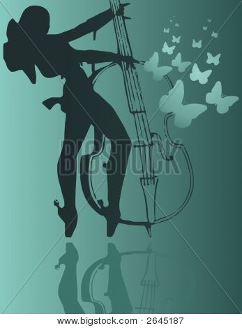 Girl And Cello