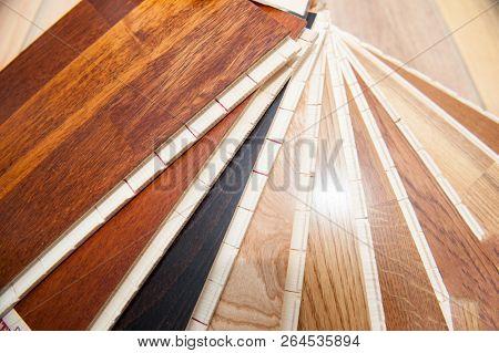 Wood samples nice color
