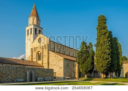 View At The Basilica Of Santa Maria Assunta In Aquileia, Italy