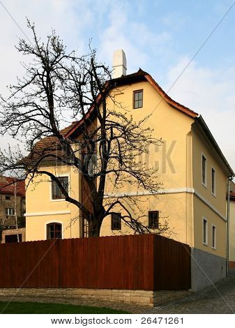 Native house of  the Sigmund Freud - city